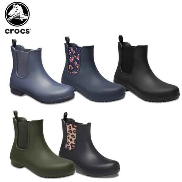 【25%OFF】クロックス(crocs) クロックス フリーセイル チェルシー ブーツ ウィメン(crocs freesail chelsea boot W )/レディース/ブーツ[r][C/C]【ポイント10倍対象外】