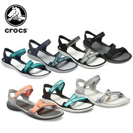 【24%OFF】クロックス(crocs) スウィフトウォーター ウェビング サンダル ウィメン(swiftwater webbing sandal w) レディース/女性用/シューズ/サンダル[C/A]【ポイント10倍対象外】