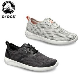 【20%OFF】クロックス(crocs) ライトライド メッシュ レース ウィメン(literide mesh lace w) レディース/女性用/シューズ/スニーカー[C/A]