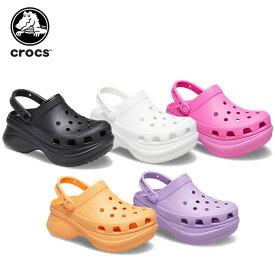 【ポイント10倍】クロックス(crocs) クロックス クラシック ベイ クロッグ ウィメン (crocs classic bae clog w) レディース/女性用/厚底/サンダル/シューズ[C/B]