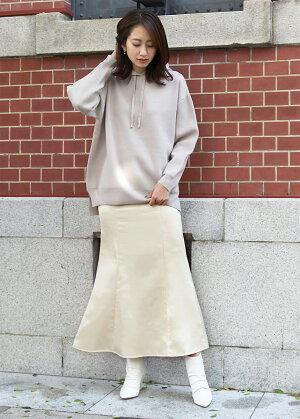 ヴィンテージサテン後ろ編み上げサテンマーメイドスカートYUUMIスカートスカートマーメイドマーメイドスカートサテンマーメイド光沢ロング秋冬くすみカラーレディースきれいめ大人大人カジュアルTEANYティーニー
