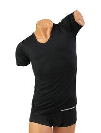 グレイブボールト GRAVEVAULT 【ATYPICAL】 バンブー VネックTシャツ XL  /12時まで あす楽対応(土日祝祭日を除く)