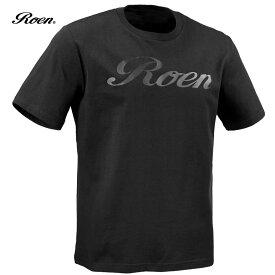 Roen ロエン Tシャツ ロゴ シンプル メンズ クルーネック 半袖T(ブラック黒) 59147003