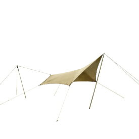 (CAMPAL JAPAN)キャンパルジャパン システムタープ ペンタ 3×3 | アウトドア キャンプ アウトドア用品 キャンプ用品 キャンプグッズ アウトドアグッズ おしゃれ タープ ヘキサ ウイング型