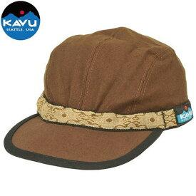 カブー ストラップキャップ チョコレート M (KAVU)