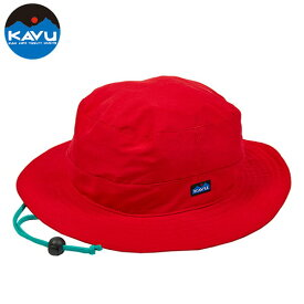 カブー シンセティックバケットハット レッド S (KAVU)