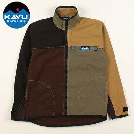 カブー 10oz F/Z スローシャツ アグリー L (KAVU)