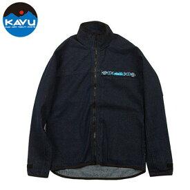 カブー F/Z スローシャツ デニム S (KAVU)