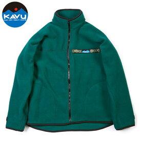 カブー(KAVU) フリース F/Z スローシャツ フォレスト M