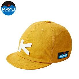 カブー ベースボールキャップ マスタード (KAVU)