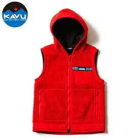 カブー Shasta Vest Red XS (KAVU)