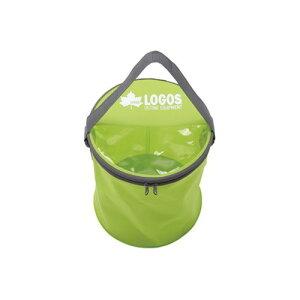 ロゴス アクアFDバケツ (LOGOS) | キャンプ用品 おしゃれ アウトドア用品 防水 バッグ アウトドア グッズ キャンプ キャンプグッズ バーベキュー用品 バック 折りたたみ バーベキュー bbq 便利