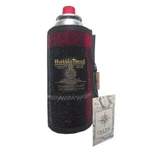 シーアンドシー・ピー・エイチ Harris Tweed CB缶CASE (RED)