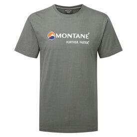 モンテイン モンテインロゴTシャツ (ストラトスグレー) (Montane)