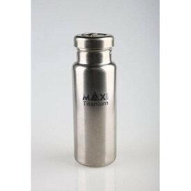 アウトドア・ギア・マニアックス Titanium Water Bottle チタンボトル 800ml (OGM)