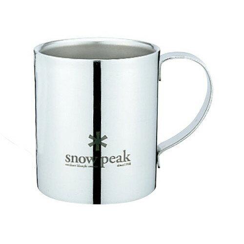 スノーピーク(snow peak) スノーピークロゴダブルマグ 240/MG-112R