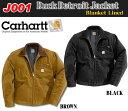 デトロイトジャケットブランケットライン ブラック ブラウン
