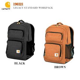 【Carhartt】190321 カーハート レガシィスタンダードワークバッグ リュック バックパック ブラウン ブラックLegacy Standard Workpack BAG