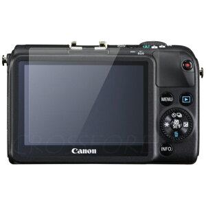 クロスフォレスト Canon EOS M2 / M用 液晶保護 ガラスフィルム