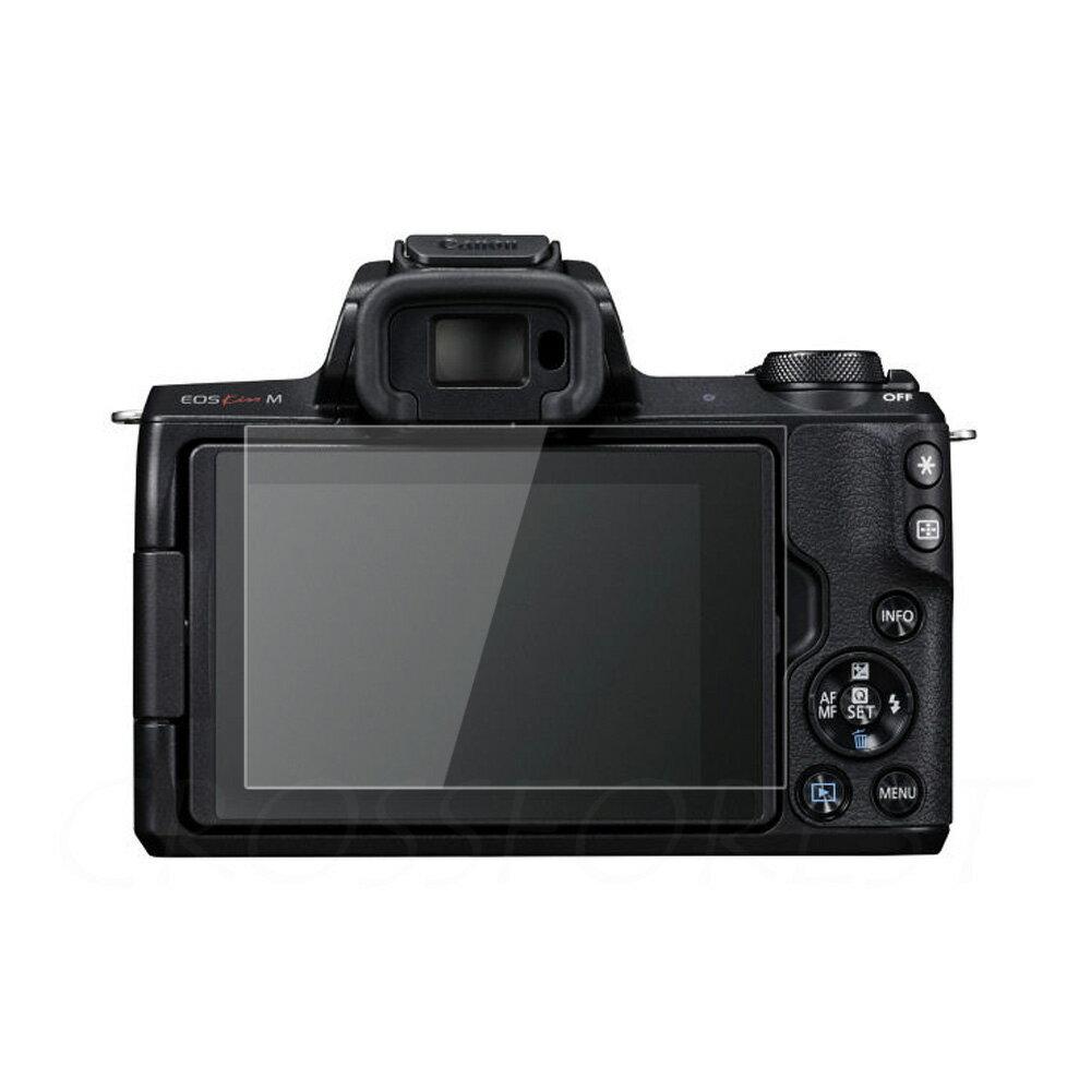 ゆうパケット送料無料! クロスフォレスト Canon EOS Kiss M / M100 / M6 / PowerShot G9X MarkII / G7 X MarkII / G5 X / G9 X / G7 X用 液晶保護 ガラスフィルム