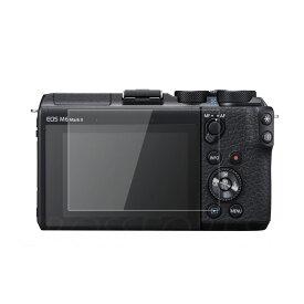 送料無料! クロスフォレスト Canon EOS M6 Mark II / Kiss M / M100 / M6 / PowerShot G9X MarkII / G7 X MarkII / G5 X / G9 X / G7 X用 液晶保護 ガラスフィルム