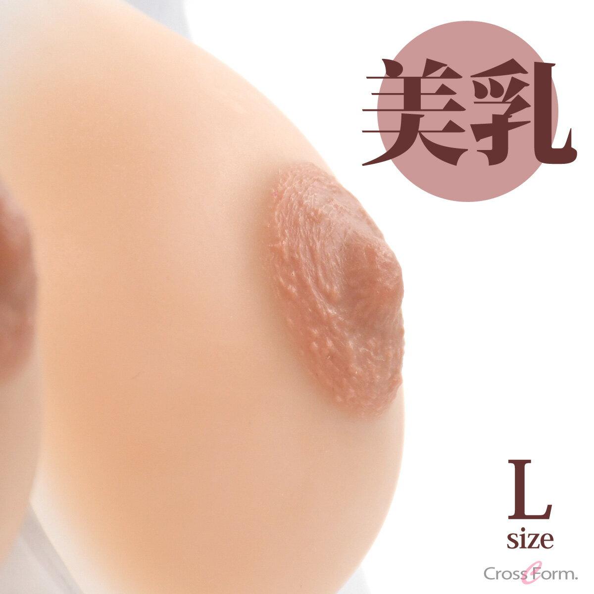 ビーナス venus 人工乳房 ブレストフォーム シリコンフォーム シークレット Lサイズ 左右セット