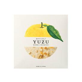 高知県産 YUZU ピール入りバスソルト 40g×5 ゆず