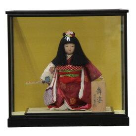 童人形【アウトレット品】ケース入り舞姿 せせらぎ8号 幅41cm 3mk71 蓬生作 雛祭り
