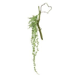 人工観葉植物 グリーンネックレスハンギング 長さ68cm fz6330 (代引き不可) インテリアグリーン 造花