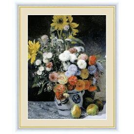 額絵 [ルノワール] 【花瓶の花】 [F6] [G4-BM034-F6]【代引き不可】