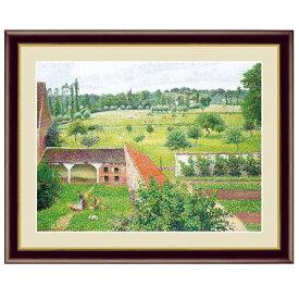 世界の名画 カミーユ・ピサロ 部屋の窓からの眺め F6 [g4-bm196-F6] インテリア