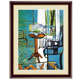 世界の名画 アンリ・マティス 窓:忘れな草の室内 F6 [g4-bm202-F6] インテリア