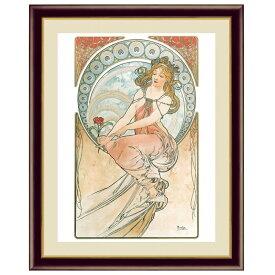 世界の名画 アルフォンス・ミュシャ 芸術:絵画 F6 [g4-bm206-F6] インテリア