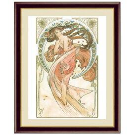 世界の名画 アルフォンス・ミュシャ 芸術:ダンス F6 [g4-bm207-F6] インテリア