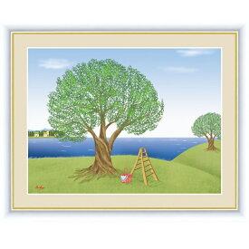 インテリアアート 鈴木 みこと(すずき みこと) オリーブの木 F6 [g4-cm007-F6] インテリア