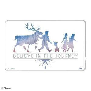 ICカードステッカー ディズニー アナと雪の女王 シール suica 簡単 個人情報 保護 貼り直し 通勤 通学 おしゃれ 可愛い イングレム IN-DICS-FR02