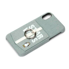iPhone X ケース スターウォーズ ロゴ/デニム ハードカバー ポケット スマホリング 落下防止 カードポケット おしゃれ シンプル キャラ PGA