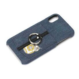 iPhone X ケース スターウォーズ BB-8 ハードカバー ポケット スマホリング 落下防止 カードポケット おしゃれ シンプル キャラ PGA