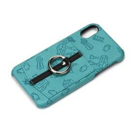 iPhone X ケース スターウォーズ パターン ハードカバー ポケット スマホリング 落下防止 カードポケット おしゃれ シンプル キャラ PGA