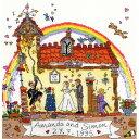 クロスステッチ刺繍キット Bothy Threads-Cut Thru' Wedding 結婚式 ウエディング