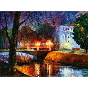 クロスステッチ刺繍図案 Heaven And Earth Designs(HAED) -Leonid Afremov-Memories Of First Love