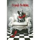 クロスステッチ刺繍 キット クロスステッチキット 海外 Heaven And Earth Designs(HAED) - French Bulldog