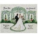 クロスステッチ刺繍キット Janlynn - Marriage - From This Day Forward
