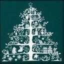 クロスステッチ刺繍キットクリスマスツリー(グリーン) - DMC