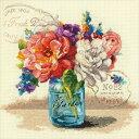 クロスステッチ刺繍キット Dimensions - Garden Bouquet