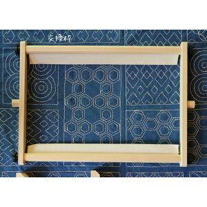 スクロールフレーム 交換枠60cm (スタンドなし、フレームのみ) クロスステッチ刺繍枠スクフレ