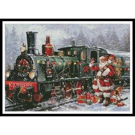クロスステッチ刺繍キット Artecy - Christmas Express
