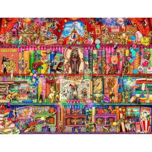 クロスステッチ キット 上級者 全面刺し Supersized The Marvelous Circus Max Colors 28ct-HAED(Heaven and Earth Designs)