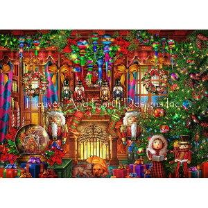 クロスステッチ キット 上級者 全面刺し クリスマス HAED(Heaven And Earth Designs)-Christmas Two