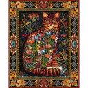 クロスステッチ刺繍キット Paine Free Crafts-Tapestry Cat,by Lewis T Johnson